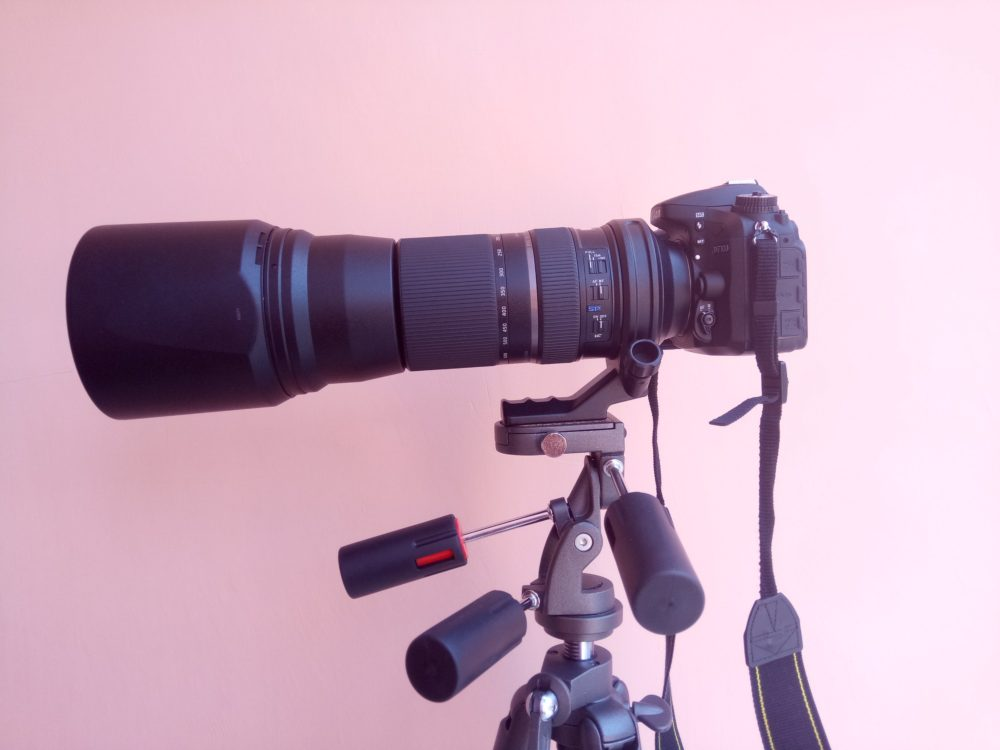 How to get sharp images from Tamron150-600 mm Lens ?
